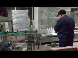 rokas ziepes želejas spirta pildīšanas pudeļu pildīšanas līnijas mašīna