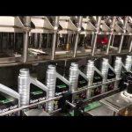pilna automātiskā virzuļa smērvielu eļļas smērvielu eļļas iepildīšanas iekārtu līnija
