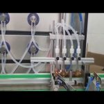auto 10ml 30ml 60ml 100ml pudeļu kosmētikas uzpildes mašīna šķidrumiem