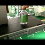 galda uzlīmju marķēšanas mašīna plastmasas ūdens pudelēm