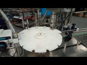 karstā pārdošana pilnībā automātiska 10 ml 20 ml 25 ml mēģenes, kas aizpilda korķa iepakošanas mašīnu