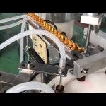 automātiska 5-30 ml stikla pilinātāja mazu pudeļu acu pilienu flakons e šķidruma iepildīšanas aizbāžņa mašīna