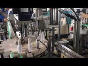 sanitizer šķidruma iepildīšanas mašīna, etanola dezinfekcijas līdzekļu iepildīšanas mašīna
