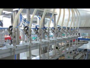 dezinfekcijas šķidrās rokas ziepju spirta pudeļu pildīšanas mašīna