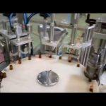 automātiska e šķidruma 10ml pudeļu pildīšanas aizbāžņu aizbāžņu mašīna