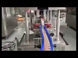 automātiska roku mazgāšanas želeja ar roku sanitizatora virzuļa uzpildes mašīna