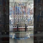 tilpuma šķidrās pārtikas eļļas mājdzīvnieku pudeļu pildīšanas mašīna