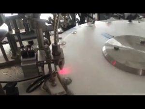 automātiska 30-50 sitienu minūtē mini nagu lakas pudeļu pildīšanas mašīna