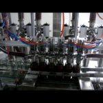 lineārā automātiskā 4 galvu virzuļpudele viskozā kečupu mērces šķidruma iesaiņojuma pildīšanas mašīnā