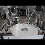 automātiska acu pilienu iepildīšanas mašīna, mazu pudeļu iepildīšanas un aizzīmogošanas mašīna