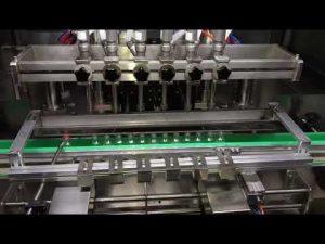 automātiska spirta sanitizer gela uzpildīšanas mašīna ikdienas ķīmijas rūpniecībai