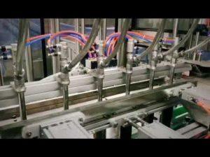 automātiskais virzuļa lineārais mazgāšanas līdzeklis, šampūns, smēreļļas viskozā šķidruma pildīšanas mašīna