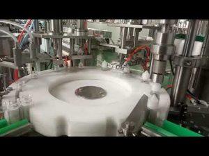 augstas kvalitātes zālaugu 30ml e šķidrās pudeles pildīšanas aizbāžņa mašīna