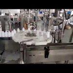 kosmētika medicīniskā plastmasas pudeļu pildīšanas aizdares mašīna