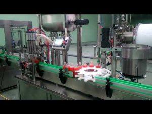 Automātiska 4 galvu ievārījumu pildīšanas un aizvēršanas mašīna
