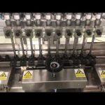 šķidrā spirta krējuma lineārā iepildīšanas mašīna, medus burka mazu pudeļu eļļas pildviela
