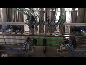 virzuļa šķidro ziepju pudeļu pildīšanas mašīna