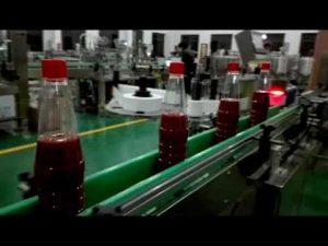 Ātrgaitas pilna pudeļu pildīšanas mašīna kečupam, ievārījumam, mērcei