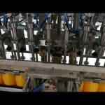12 galvas automātiskā pudeļu pildīšanas iekārta kečupu eļļu kosmētikas mērcei