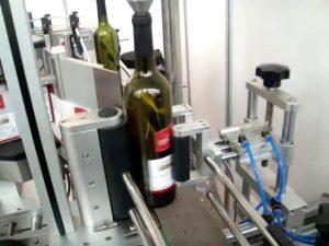 ātrgaitas dubultā sānu un apaļo pudeļu automātiskā marķēšanas mašīna