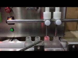 Pārdošanā mini izmēra stenda augšdaļa automātiska mazu flakonu ēteriskās eļļas šķidruma iepildīšanas mašīna