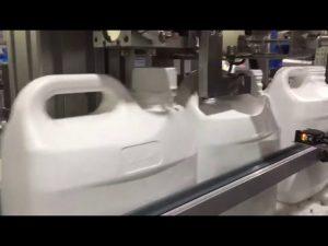 automātiska 4 sprauslu šķidruma un krējuma digitālā uzpildes mašīna