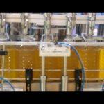 palmu eļļa, sojas pupu eļļa, cepamās eļļas iepildīšanas mašīna