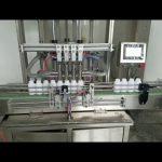 automātiska viskozu šķidruma pastas pudeļu pildīšanas mašīna šķidrām ziepēm, ķermeņa losjonam, šampūnam