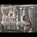 automātiskā stikla pudeļu olīveļļas iepildīšanas mašīna