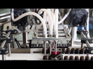 120ml olīveļļas mazgāšanas uzpildes un aizdares mašīna