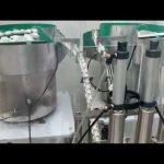 15 ml 30 ml acu piliena, cbd eļļas stikla pilinātāja pudeles pildīšanas aizbāžņa mašīna