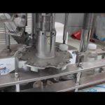 automātiska vienas galvas plastmasas pudeles pagriežama aizdares mašīna