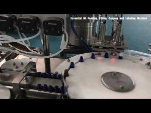 stikla pudeļu smaržu iepildīšanas mašīna, kosmētikas losjona pildviela