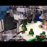 pilinātāja pudeles ēteriskās eļļas cbd eļļas iepildīšanas mašīna