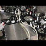 acu pilienu aizpildīšanas aizbāžņa mašīna 20 ml mazam flakonam