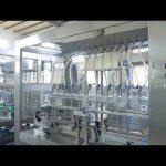 rūpnīcas automātiskā lineārā viskozā šķidrās pārtikas eļļas pudeļu burku pildīšanas mašīna