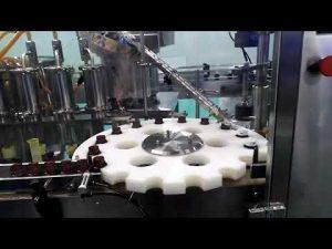 lāsteka sālsskābes hdpe pamatu caurplūdes mērītāja eļļas iepildīšanas un aizzīmogošanas mašīna